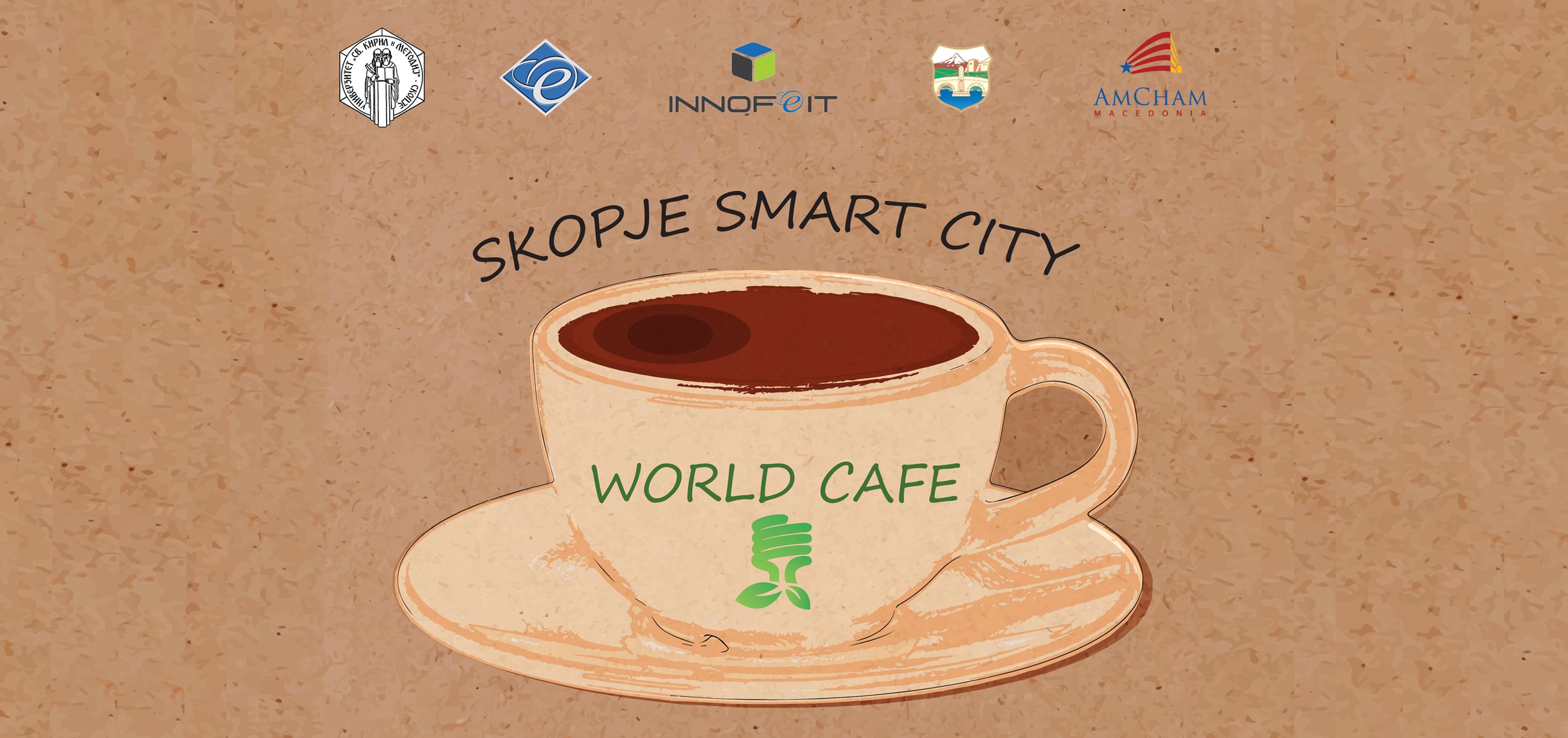 World cafe workshop: Skopje smart city